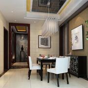 后现代风格110平米家居餐厅设计效果图