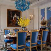 让人心动的城堡式古典餐厅设计效果图