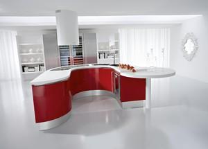 前卫个性的大户型厨房装修设计效果图