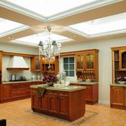 2016超大型美式风格厨房装修设计效果图