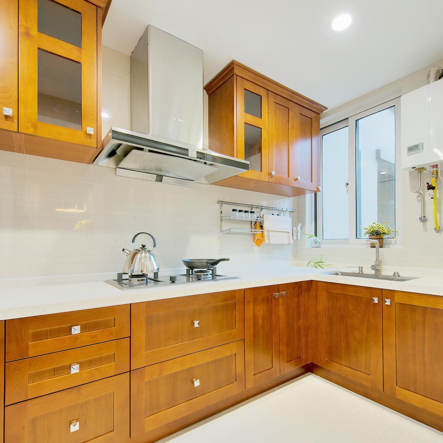 朴素8平米小户型厨房装修设计效果图