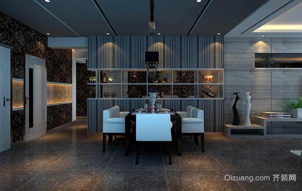 简约现代化的100平米家居酒柜装修效果图