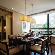 118平米大户型后现代风格餐厅设计效果图