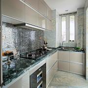 89平米两居室现代厨房装修设计效果图
