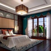 奢华大别墅中式风格精美卧室装修效果图
