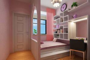 大户型简约时尚的室内榻榻米床装修效果图