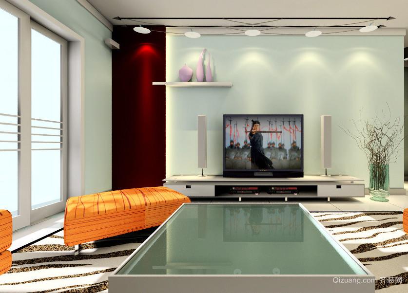 现代欧式室内电视背景墙装修效果图鉴赏