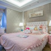 大户型小公主现代儿童房设计装修图