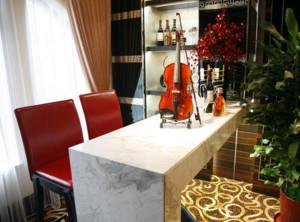 90平米现代室内欧式吧台装修效果图