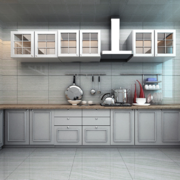 2016欧式风格室内厨房装修效果图鉴赏