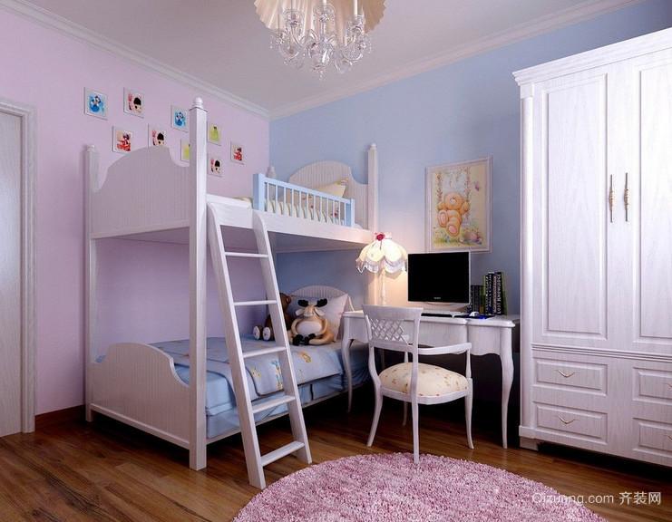 现代室内精美的儿童房装修效果图实例