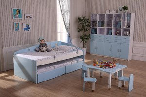 玩耍与休息兼具的儿童房设计装修效果图