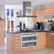 现代欧式大户型室内厨房装修效果图