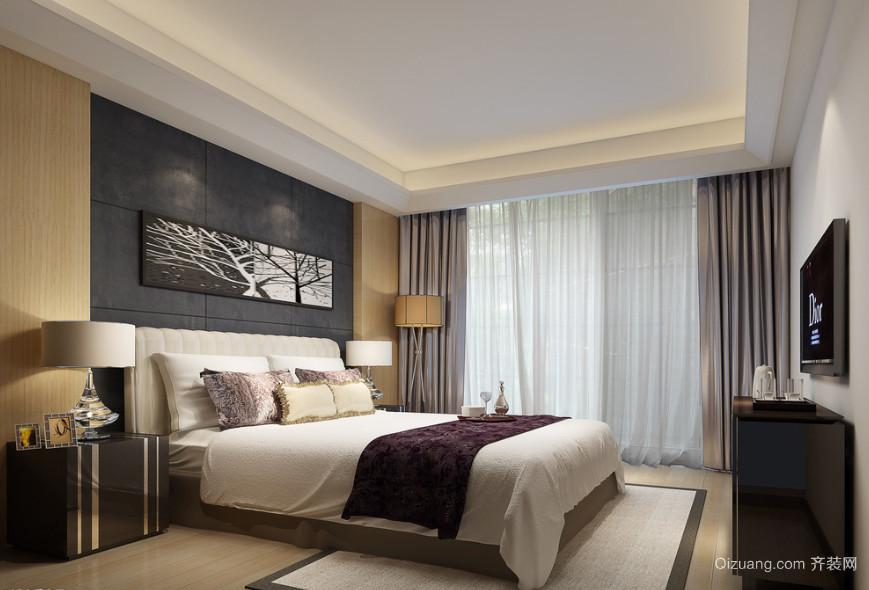 90平米大户型欧式家居卧室装修效果图