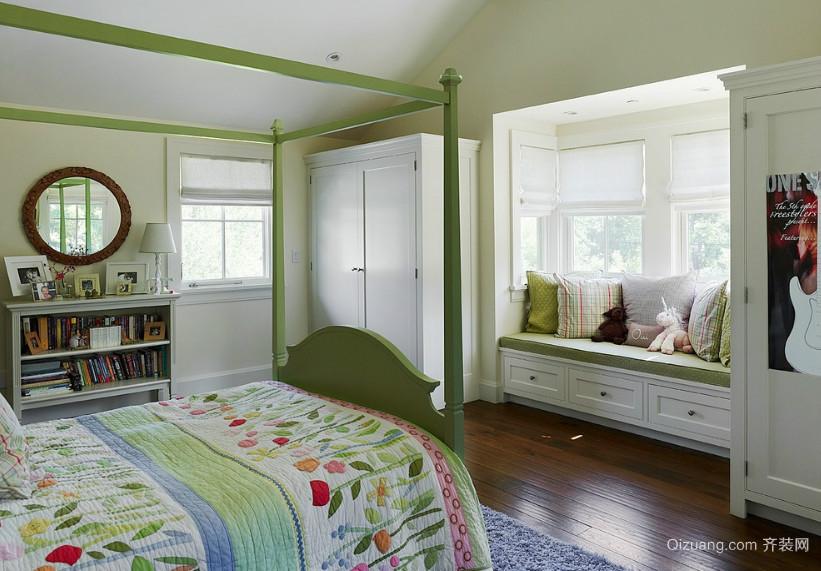 别墅型欧式风格飘窗装修效果图实例欣赏