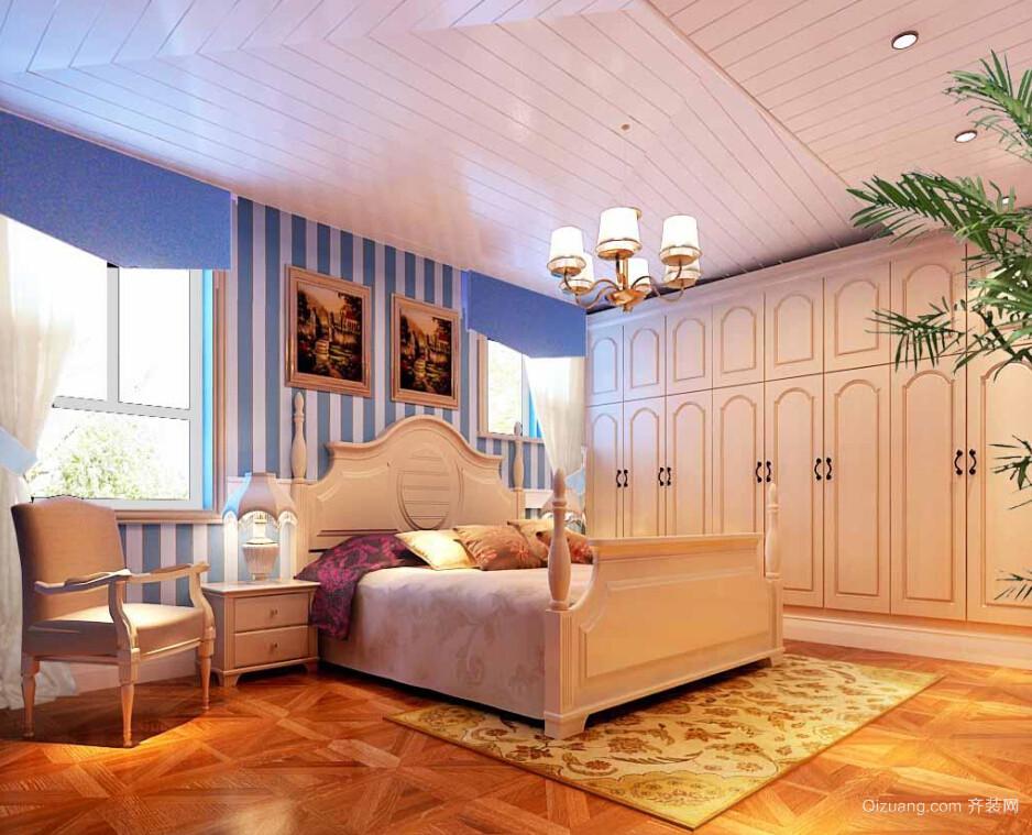 暖色调简欧风儿童房设计装修效果图