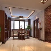 古朴典雅的中式风格餐厅装修效果图