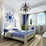 2016地中海风格卧室装修效果图实例欣赏
