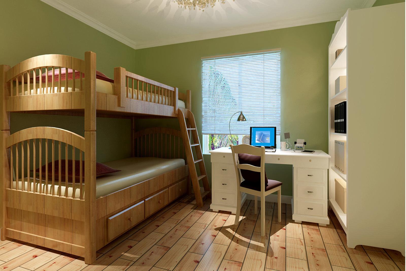 78平米宜家朴素的儿童房设计装修效果图