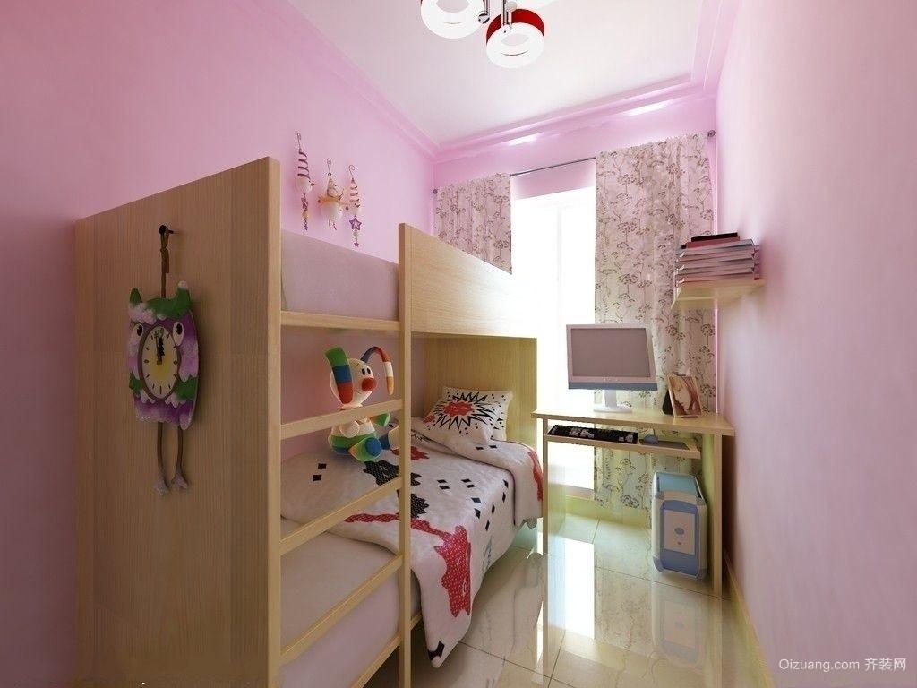 79平米小户型简约儿童房设计装修效果图