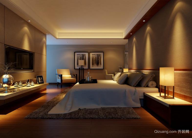 2016暖色调欧式卧室装修效果图鉴赏