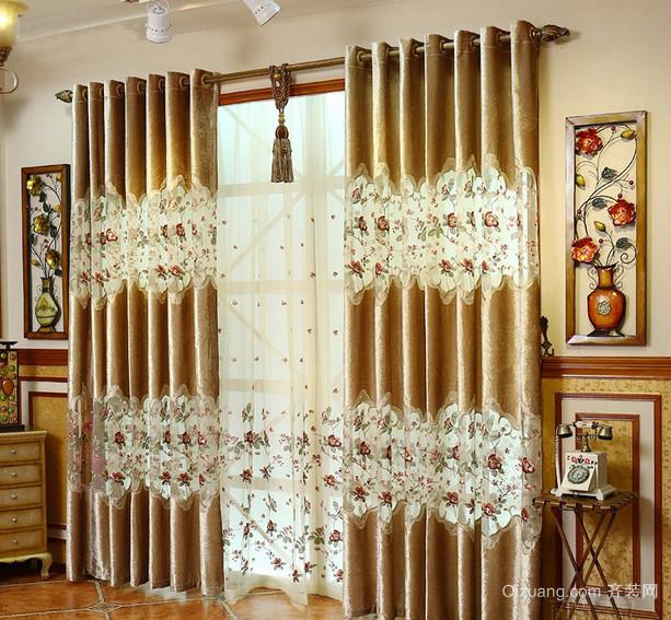 2016小户型欧式室内窗帘装修效果图鉴赏