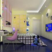 米老鼠主题的儿童房设计装修效果图
