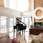 2016唯美的现代简欧风格别墅装修效果图