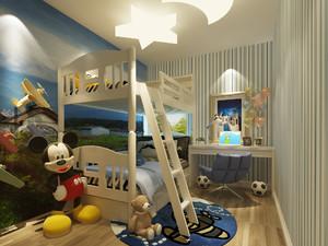 酷炫三居室小型儿童房设计装修效果图