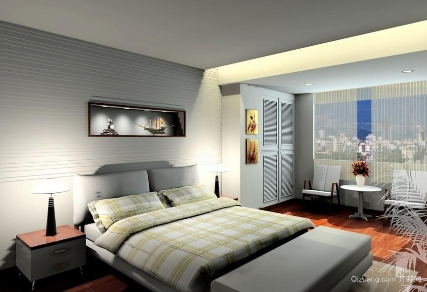 100平米大户型现代卧室吊顶装修效果图实例