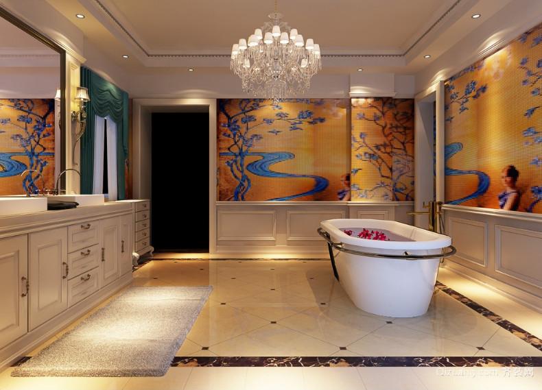 2016欧式风格浴室装修效果图实例欣赏