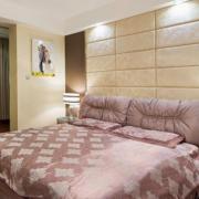经典小户型卧室软包背景墙装修效果图实例