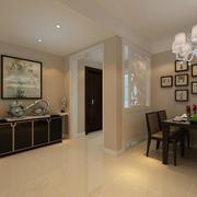 98平米家居后现代风格玄关设计效果图