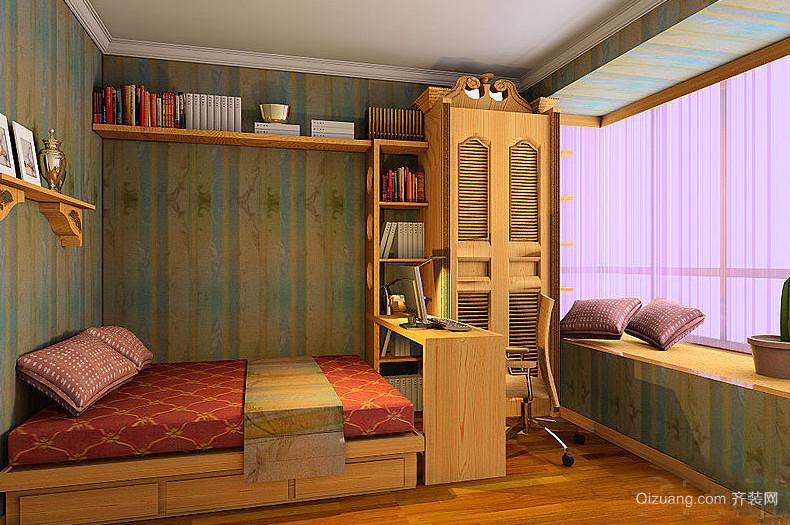 独特动感的现代大户型儿童房装修效果图鉴赏