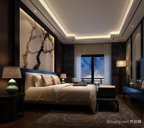 别墅型后现代风格卧室室内装修效果图