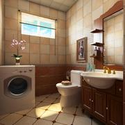 2016精美单身小公寓卫生间装修效果图