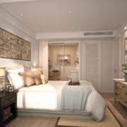 2016欧式小户型家装卧室装修效果图鉴赏
