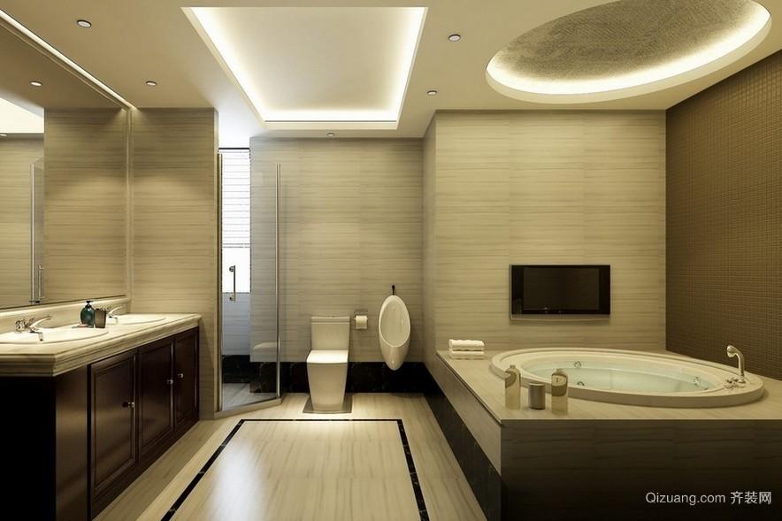 后现代风格大户型卫生间装修设计效果图