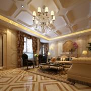 欧式风格小户型室内装修设计效果图鉴赏