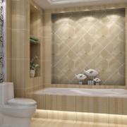 现代欧式经典的别墅型卫生间装修效果图