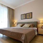 2016小户型宜家卧室背景墙装修效果图实例