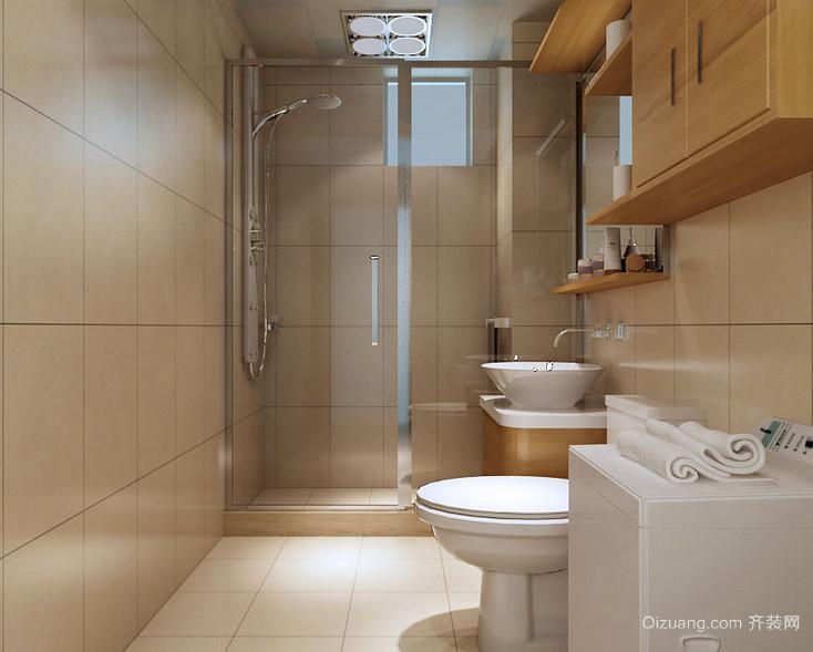 欧式风格三居室卫生间装修效果图鉴赏