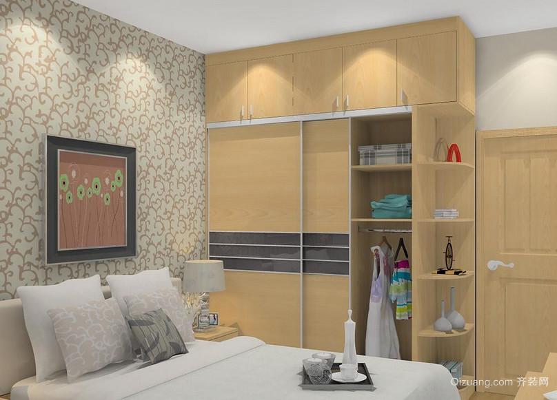 精美欧式风格三居室整体衣柜装修效果图