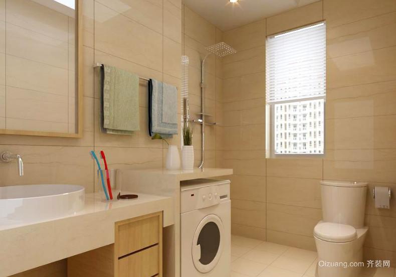 6平米欧式风格小卫生间装修效果图