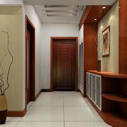 精致两室一厅家居玄关设计效果图
