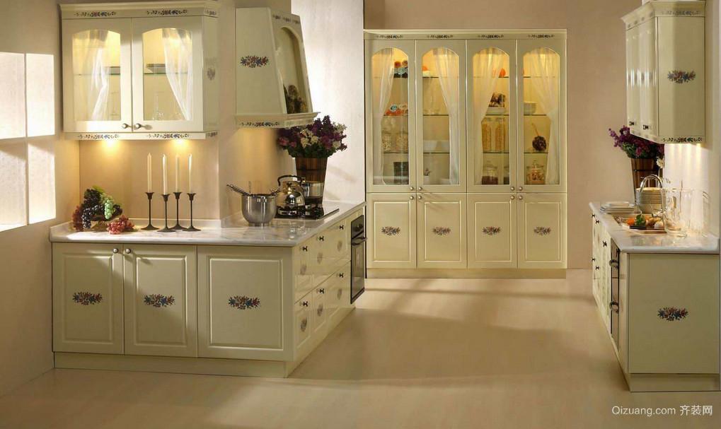 别墅型欧式风格橱柜装修效果图鉴赏