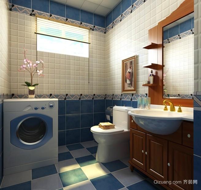 68平米混搭风格卫生间装修设计效果图