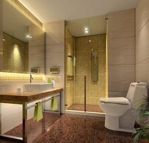 单身公寓宜家卫生间装修设计效果图