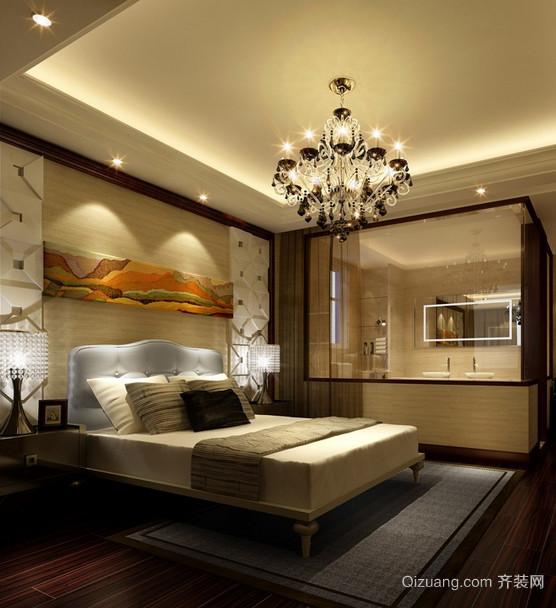 单身公寓混搭风格卧室室内装修效果图大全