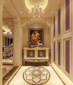 145平米欧式风格家居玄关设计效果图